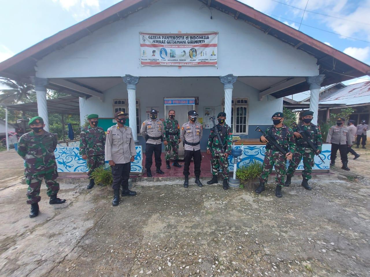 Ciptakan Situasi Kondusif, TNI dan Polri Laksanakan Patroli Gabungan ke Tempat Ibadah Wilayah Kab PPU