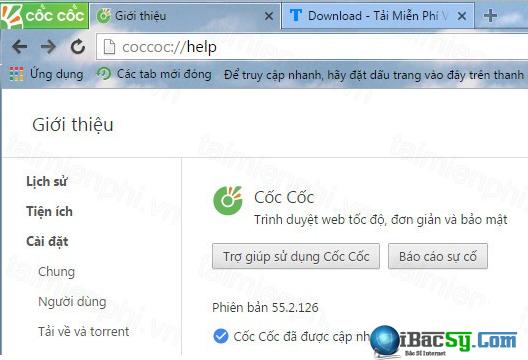 Tải cài đặt Cốc Cốc - Trình lướt web free cho Windows + Hình 5