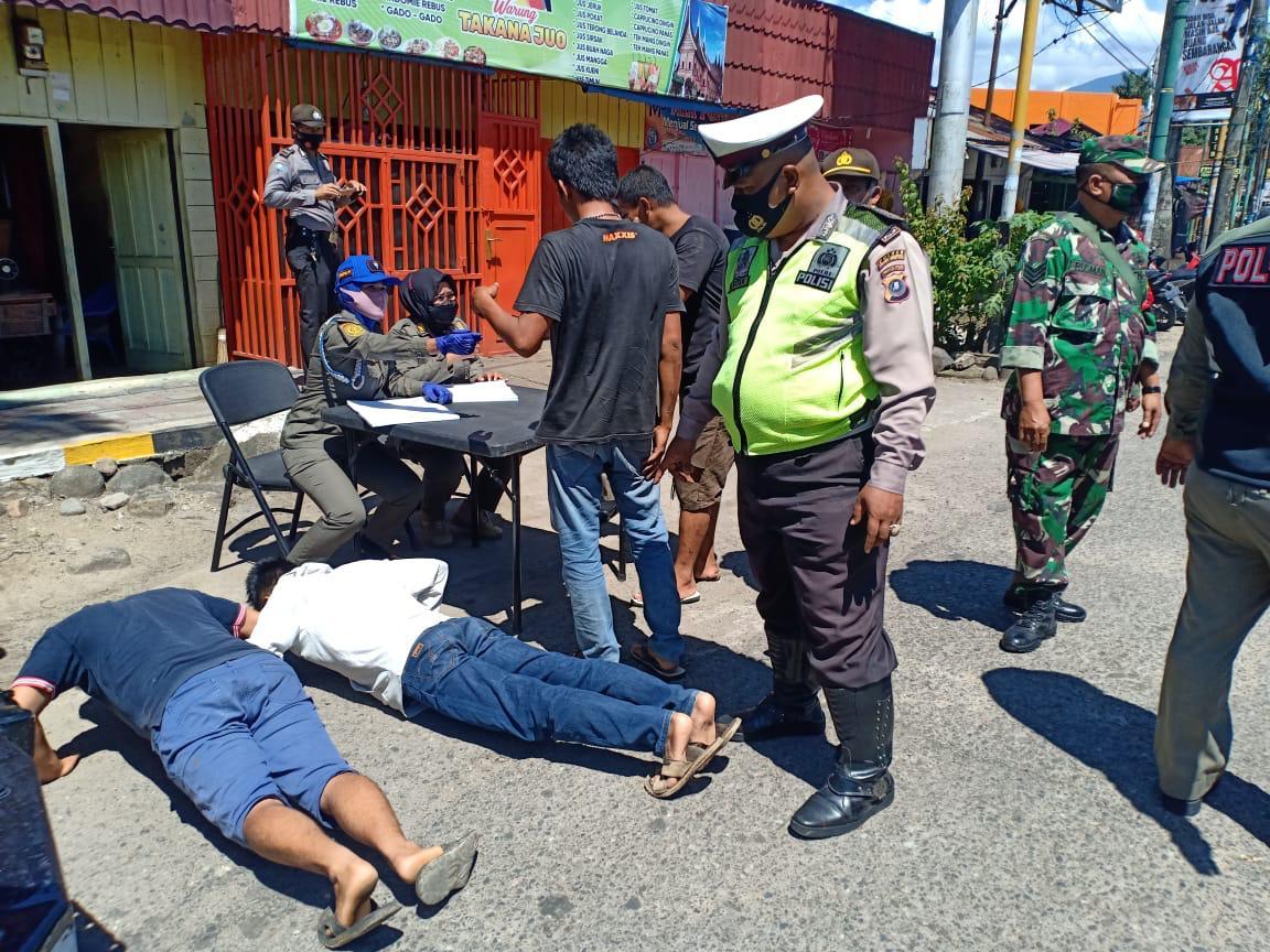 Polres Padang Sidimpuan gencar Lakukan Operasi Yustisi Kepada Masyarakat