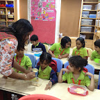 Chocolate Making Activity by Sr. KG ( 2016-17 ) at Witty World, Bangur Nagar