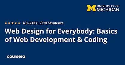best web design course on Coursera