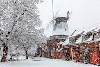 Rönnsche Mühle im Schneegestöber