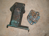 1954-1956 Engine mount brackets. used  call