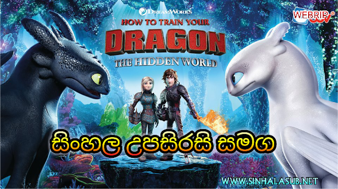 How To Train Your Dragon The Hidden World (2019) Sinhala Subtitled | සිංහල උපසිරසි සමග
