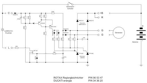 rotax electrical charge system \u0026 ducati regulator [archive] vaf forumsDucati Regulator Schematic #6