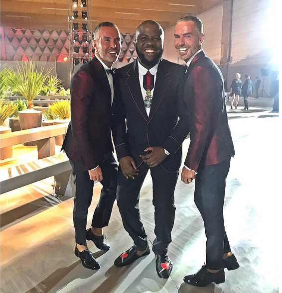 """I am your King"" – Hushpuppi Slams Nigerians As He Poses With DSquared Creators"