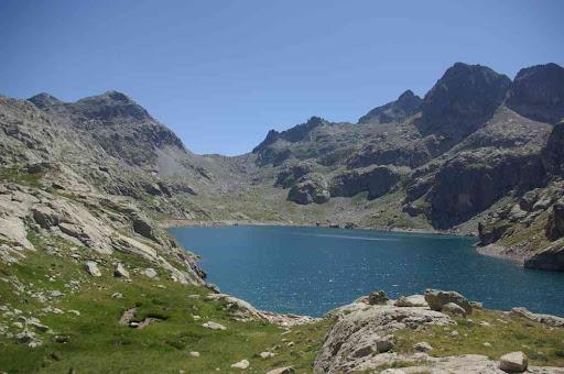 Le lac du Basto (après le pique-nique)