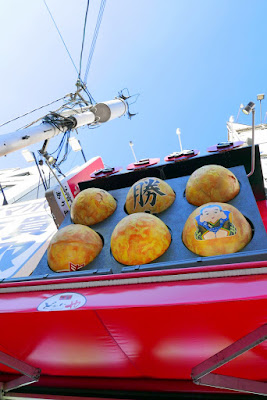 I went for the takoyaki stand Ganso Donaiya with the famous rotating takoyaki sign almost like a slow-mo slot machine, but with the takoyaki balls instead.