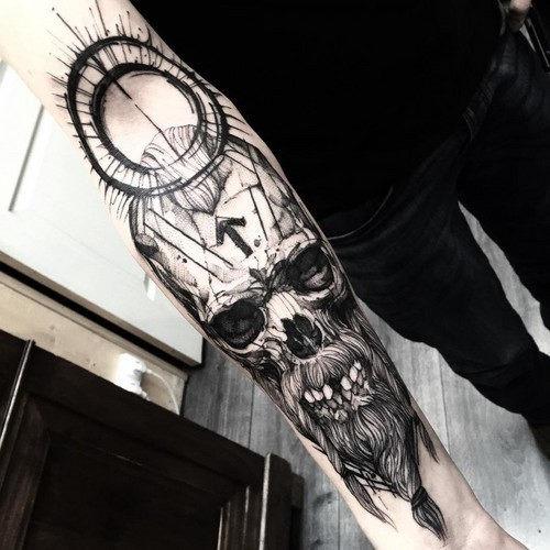 este_sedentos_de_sangue_viking_tatuagem_de_caveira