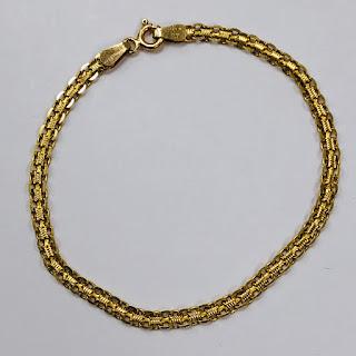 14K Gold Milor Chain Bracelet