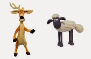 El ciervo y la oveja