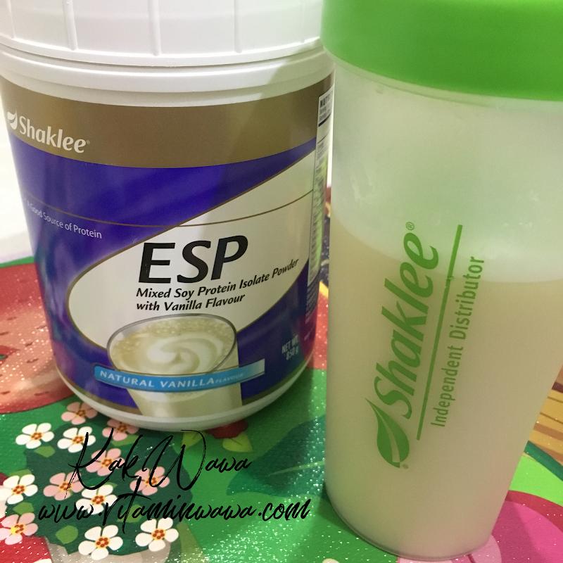 ESP Shaklee Minuman Tenaga Pagi Anda