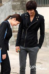 seven domu jacket korea double zipper sk08 3