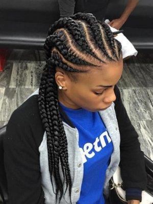 Trendy Black Braided Hairstyles For Black Women S 2018