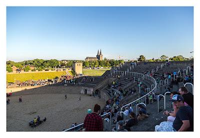 GeoXantike 2015 - Das Amphitheater leert sich