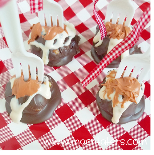 Cloudy With A Chance of Meatballs Snack Idea