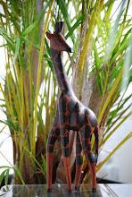 Photo: Winning Shell Number: 835  2. A wooden giraffe