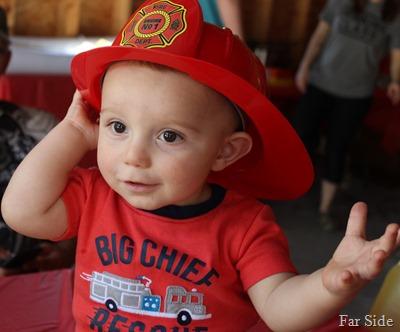 Mikeys Fire Hat