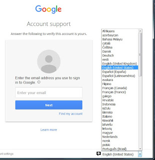 please help me recover my account - Google Product Forums