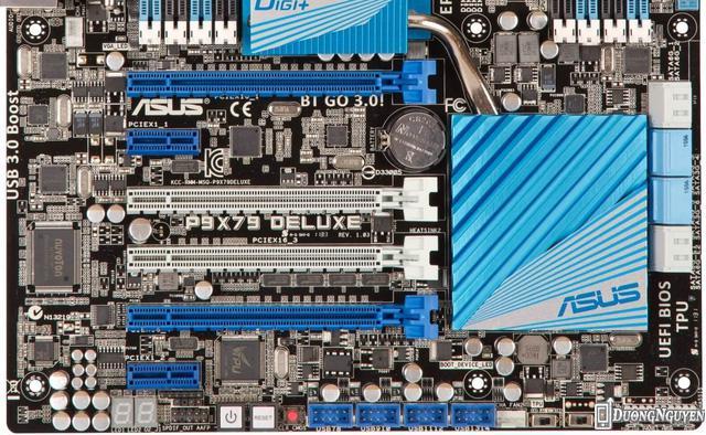 Trên các mainboard ATX, người dùng luôn có 4 cổng PCI-E 16x.