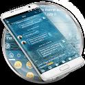 SMS Messages Bubble Rain icon