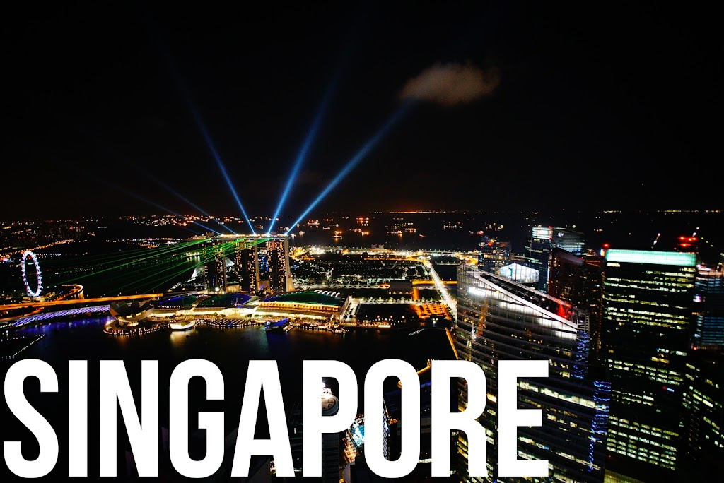 singapore skyline from one altitude rooftop bar