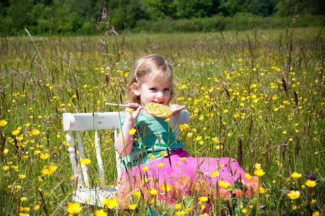 Enjoying a sweet treat in the springtime sunshine at Hovender Homestead Park in Ferndale / Credit: Jen Martin Studios