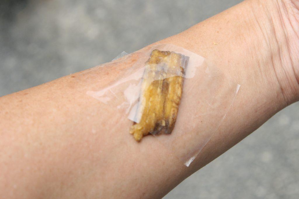 Влияние кожуры банана на различные части тела