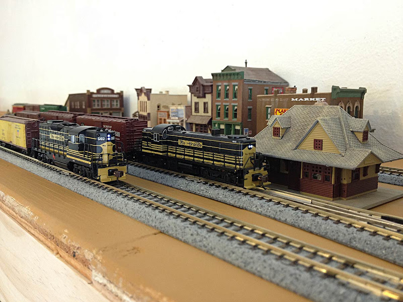 Pagosa Amp Southern N Scale Switching Shelf Layout N