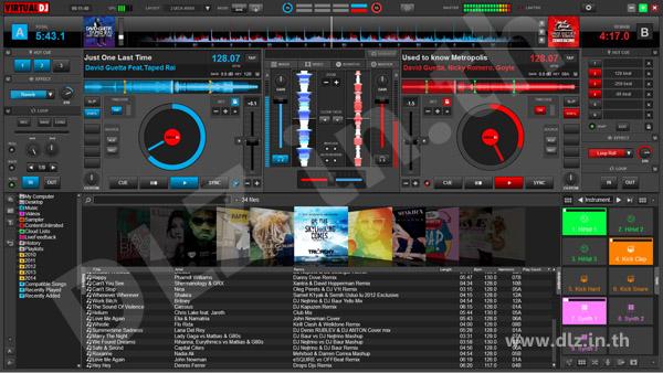 ดาวน์โหลด Virtual DJ 8 โหลดโปรแกรม Virtual DJ ล่าสุดฟรี