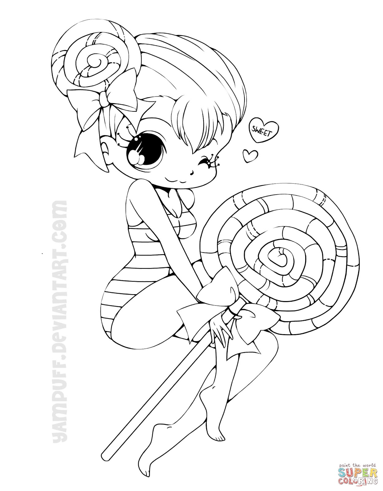 Best Free Chibi Anime Girls Coloring Pages Free Kids Children And Adult Coloring Pages