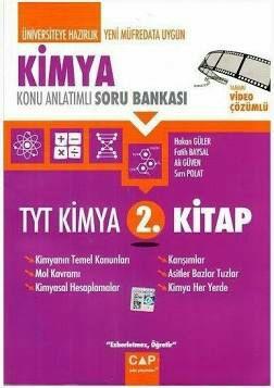 Çap Yayınları TYT Kimya 2.Kitap Konu Anlatımlı Soru Bankası 2019-2020