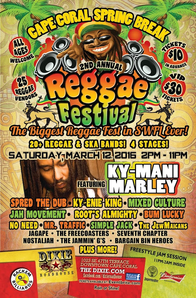 DRH Reggae Festival 5x8 Flyer 2016