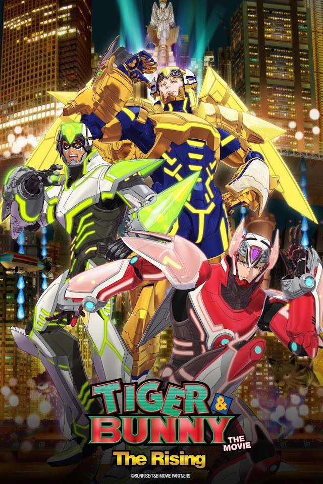Tiger & Bunny The Movie – The Rising
