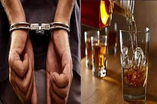 शादी समारोह में भाग लेकर किशनगंज से मधेपुरा लौट रहे पांच लोग शराब के साथ गिरफ्तार, स्कॉपियो पर लगा था राजद का बोर्ड