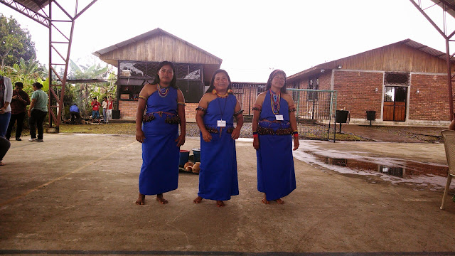 These ladies demonstrated how they now praise the Lord using their traditional forms of dance and song.