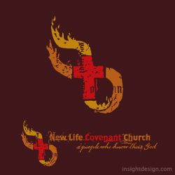 New Life Covenant Church logo design Wichita, KS