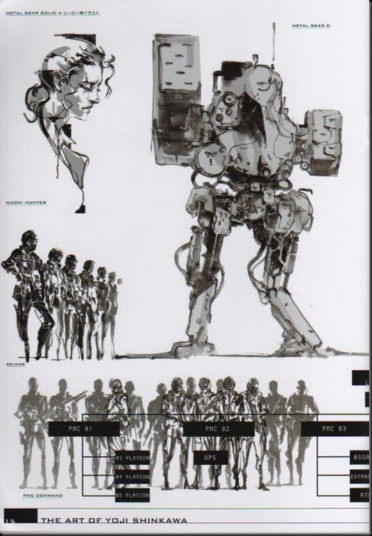 The Art of Yoji Shinkawa 1 - Metal Gear Solid, Metal Gear Solid 3, Metal Gear Solid 4, Peace Walker_802479-0019