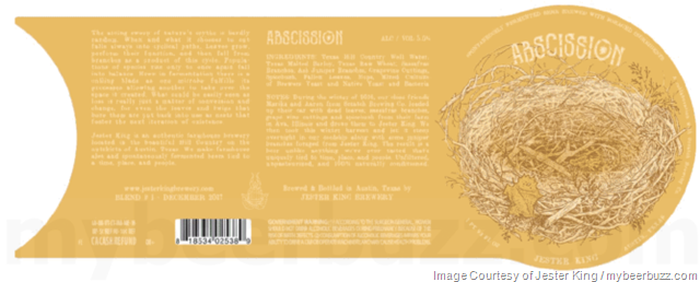 Jester King & Scratch Brewing Collaborate On Abscission