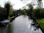 Κανάλια στα περίχωρα του Amsterdam