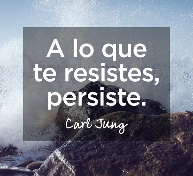 A lo que te resistes, persiste. ~ Aprende a vivir el ahora