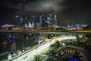 Singapore circuit with skyline