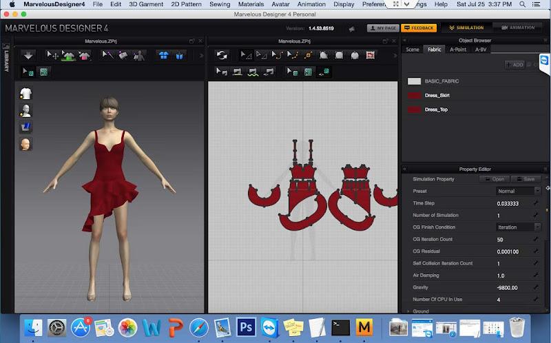 Hướng Dẫn Cài Thiết Kế 3D Marvelous Designer4 Trên Mac OS 8