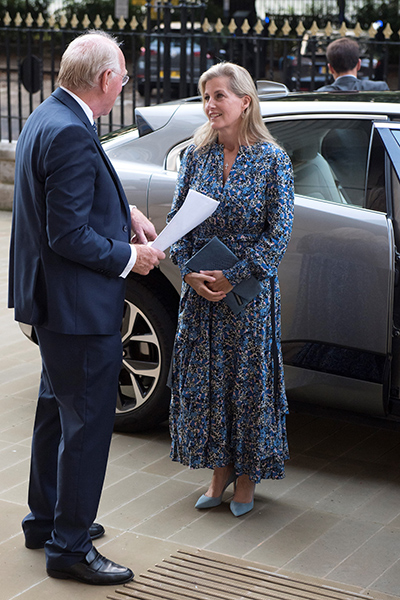 Sophie Wessex pays royal visit to Blindness Charity for Special Reason