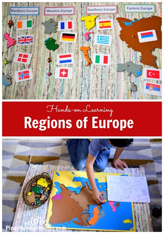 Europe Continent Study - Regions of Europe