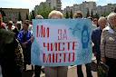 митинг по Элге в Шостке