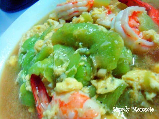 luffa with egg recipe
