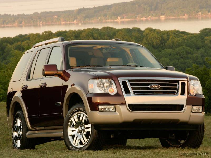 2007 ford explorer suv specifications pictures prices. Black Bedroom Furniture Sets. Home Design Ideas