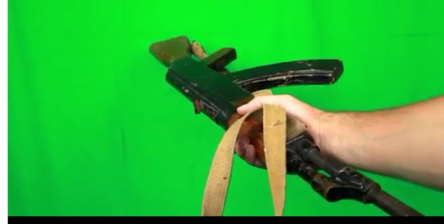 Giving Ak47 Handle Green Screen-2019