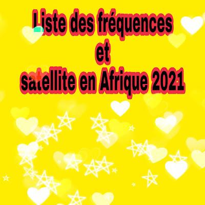 Liste des fréquences disponible en Afrique de l'ouest sur  satellite Eutelsat 16A , Amos 5 sur 17.0°E , Intelsat et Astra 4A